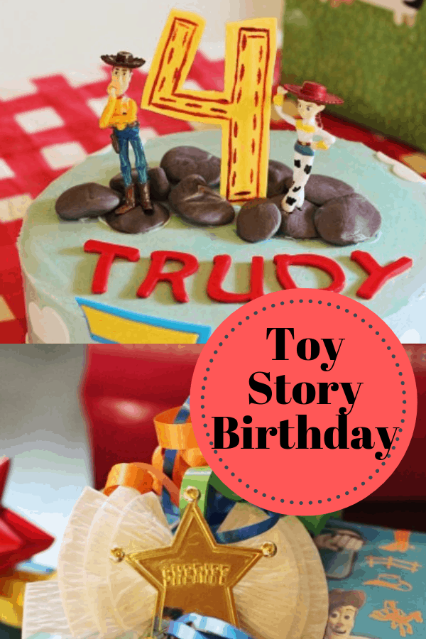Brilliant Toy Story Birthday Party Ideas On A Budget Featuring Woody And Jessie Personalised Birthday Cards Rectzonderlifede