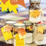 Gift in a Jar It's Fall Ya'll Cookies #fall #gift