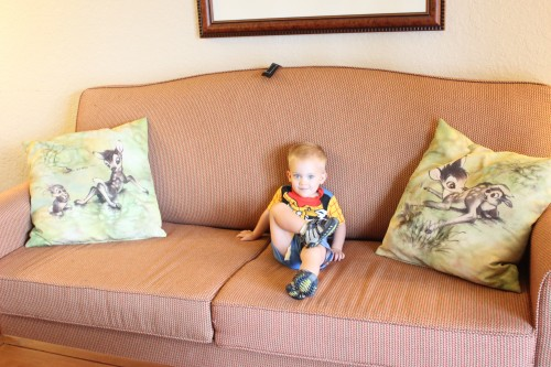 Wilderness Lodge Villas Living room