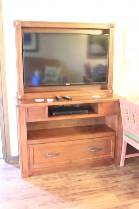 Wilderness Lodge Villas TV