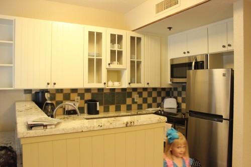 Wilderness Lodge DVC kitchen