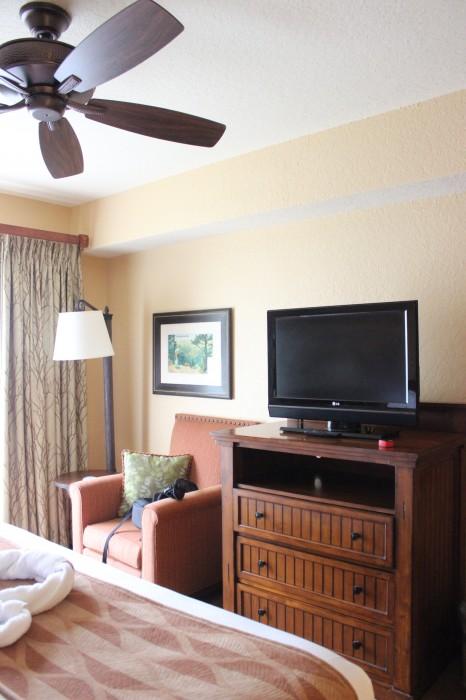 wilderness lodge villas bedroom