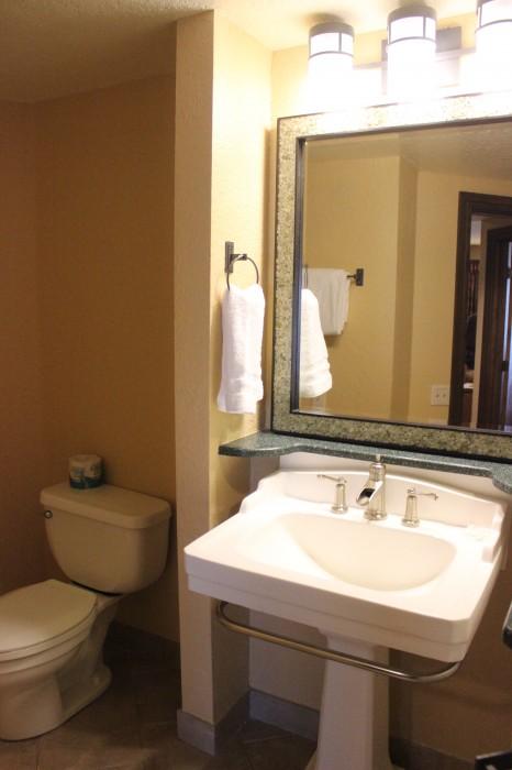 Wilderness Lodge Villas bath