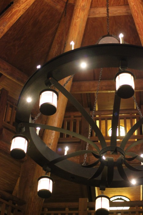 Disney's Wilderness Lodge Villas DVC light