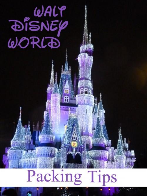 Walt Disney World Packing Tips #travel