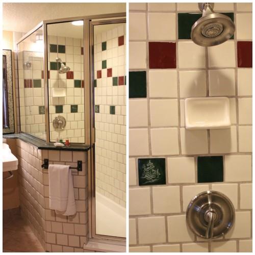 Wilderness Lodge Villas Shower