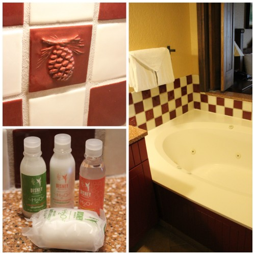 Wilderness Lodge Villas Bathroom
