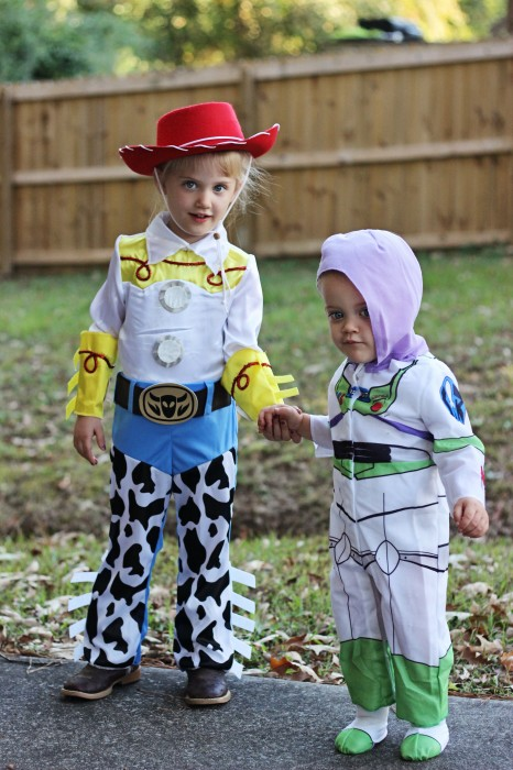 toy story halloween costumes for kids jessie buzz