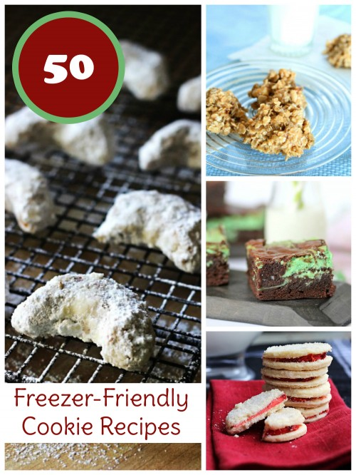 Be prepared for seasonal cookie swaps or weeknight dessert with these freezer cookie recipes