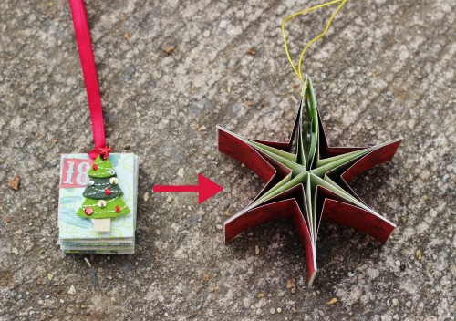 Make these DIY paper ornaments to mark each day of Advent by opening your ornament into a star! When your tree is full of stars, Christmas is here.