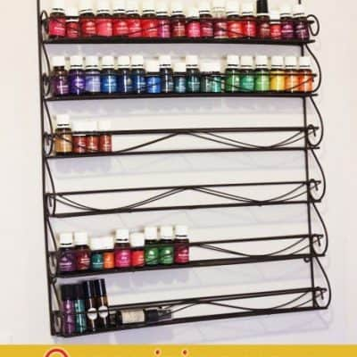 3 different ways to organize your essential oils collection
