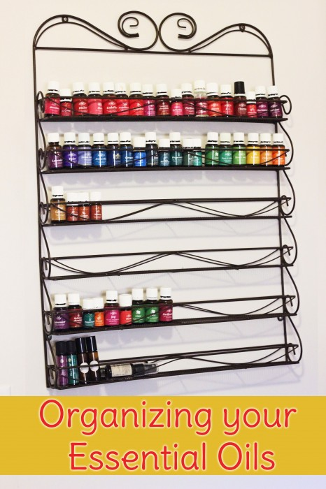 Three ways to organize your essential oils depending on the size of your collection
