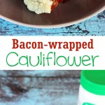 These bacon wrapped cauliflower bites make an excellent low carb snack. Use the right kind of bacon and make it paleo too!