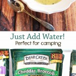All of Bear Creek Country Kitchens products are ready in 10-15 minutes by just adding water. Perfect for camping, preparedness, or getting dinner on the table quickly!