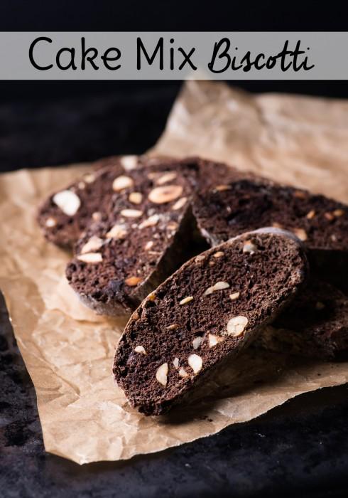 Almond Biscotti From Cake Mix