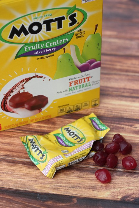 mott's fruity centers fruit snacks