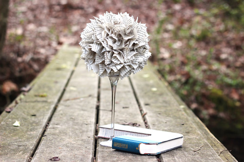 Upcycle an Old Book into Dollar Store Home Decor DIY!