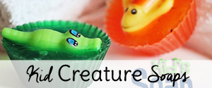 Kids Sea Creature Soap Craft