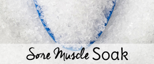 sore muscle soak