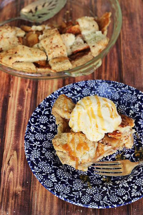 Enjoy a crust just as flaky as the traditional version with this Gluten Free Apple Pie recipe