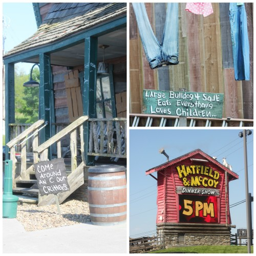 Hatfield and McCoy Dinner show review Pigeon Forge