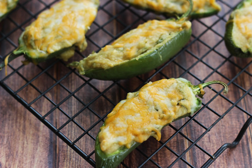 This easy appetizer recipe combines several southwest flavors for the perfect jalapeno poppers.