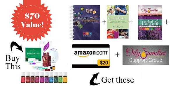 Young Living Essential Oils Premium Starter kit Bonus Items
