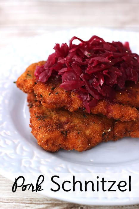 Try this Air Fryer Schnitzel for a less messy, less greasy version of a German favorite.