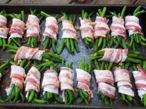 Bacon wrapped green beans are a summer recipe you'll want to serve again and again.