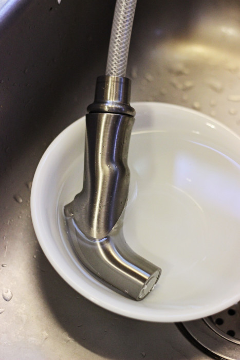 kitchen faucet cleaning tips the cleaner home