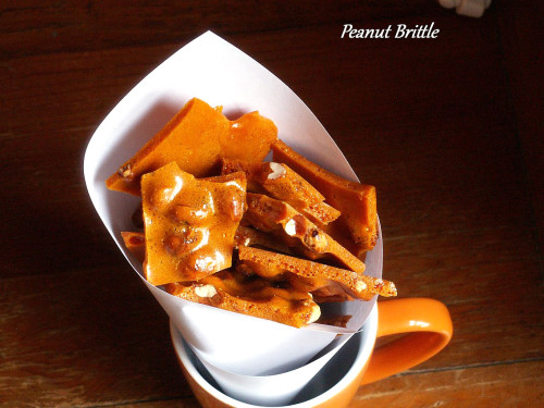 This basic peanut brittle recipe makes a fantastic dessert recipe for parties. You can even give a peanut brittle gift this holiday season when you're making Christmas cookies!