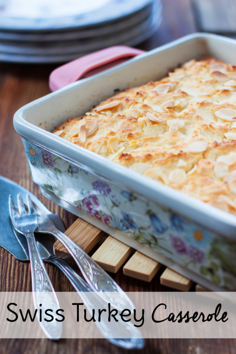 Need casserole recipes for dinner? Try this Swiss Turkey <a href=