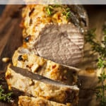 Oven Roasted Pork Tenderloin with Gravy