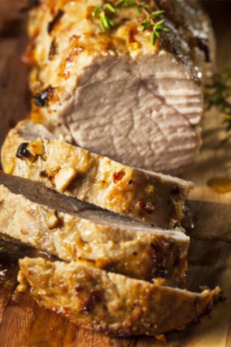 Oven Roasted Pork Loin with Gravy