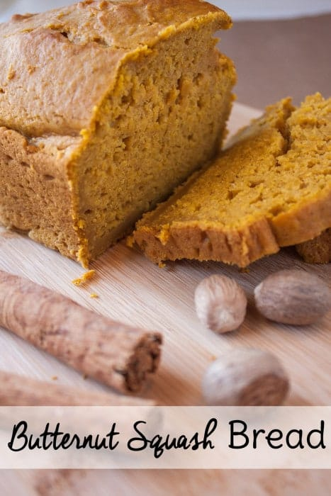 Much like pumpkin bread or zucchini bread, this butternut squash bread recipe is a <a href=