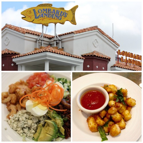 Universal Orlando dining Lombard's Seafood Grille review Universal Studios