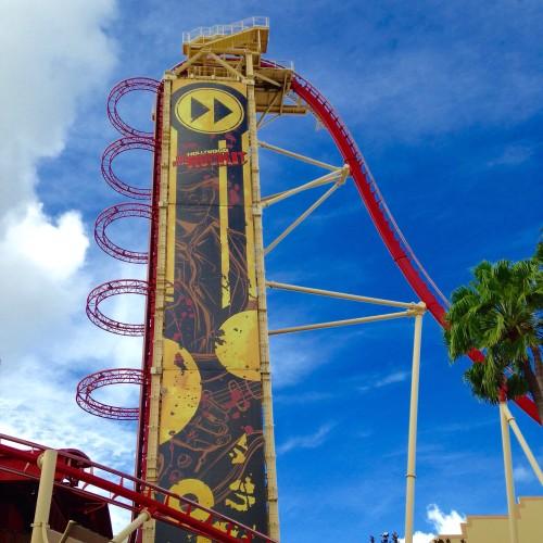 Universal Studios Hollywood Rip Ride Rocket