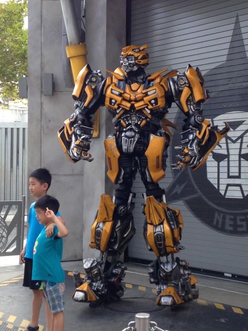 universal studios rides transformers the ride 3d