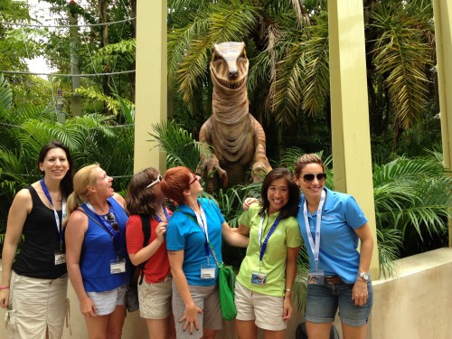 islands of adventure jurassic park raptor encounter