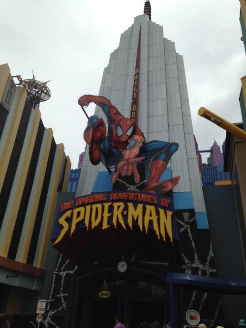 islands of adventure rides spiderman universal orlando