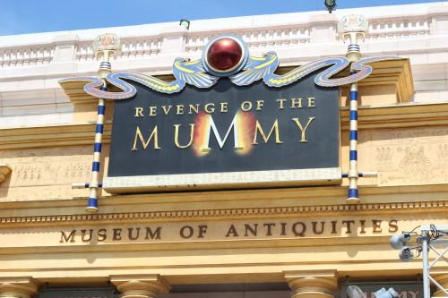 Universal Studios Rides Revenge of the Mummy