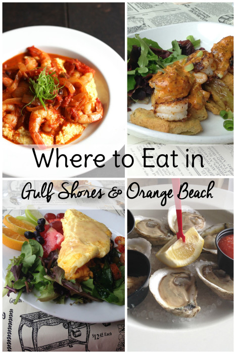Where to eat in Gulf Shores: Gulf Shores and Orange Beach restaurants that you don't want to miss!  Travel