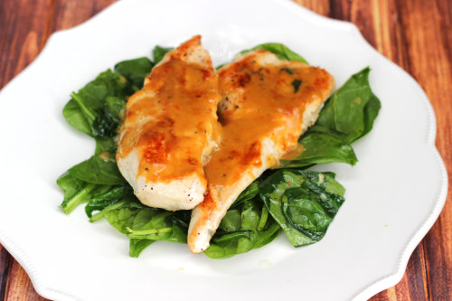 Orange Dijon Chicken: This easy chicken recipe is perfect for busy weeknights. Get dinner on the table in a hurry with this easy dinner idea
