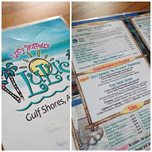 Gulf shores alabama restaurant Lulu's