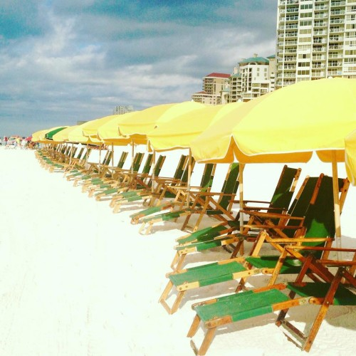 Hilton Sandestin beach chairs