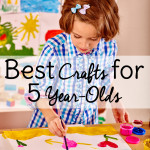Best Crafts for 5 Year Olds: Christmas gift ideas!