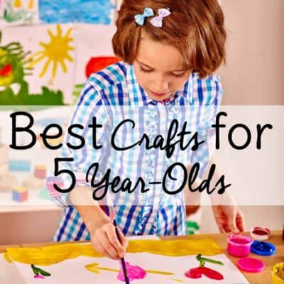 Some of the best crafts for 5 year olds are crafts and activities that they can do independently! Check out these fun crafts for kids that require minimal supervision and watch your child feel proud of his success!