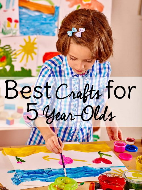Some of the best crafts for 5 year olds are crafts and activities that they can do independently! Check out these fun <a href=