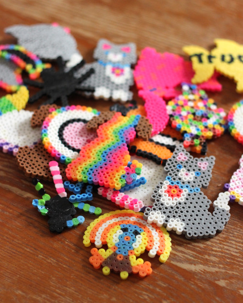 melty beads perler beads craft