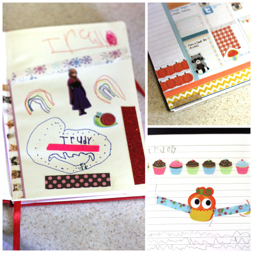 Washi tape is such a fun craft supply to have on hand for 5 year olds to craft with. Kids love to create their own artwork and need little to no supervision with it.
